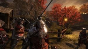 рыцарская средневековая война
